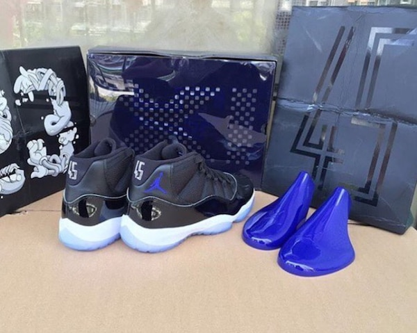 buy popular d11f7 0c521 air jordan 11 space jam with box