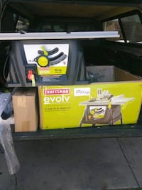 New craftsman table saw and stand $100 West Valley City, 84119