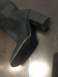 Ck boots up to knee like new ,