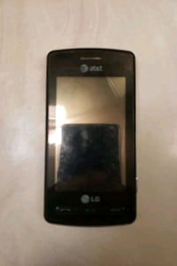 black LG Android smartphone with black case Phoenix, 85051