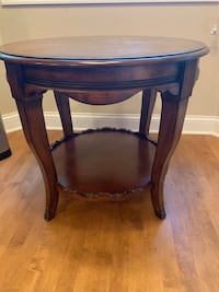 Brown Wood End Table Lisle, 60532