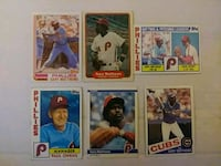 EARLY 1980s PHILLIES BASEBALL CARDS MLB Upper Darby, 19026