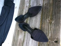 Black suede flats Pikesville, 21208
