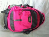 pink and black leather handbag Brampton, L6S 2J8
