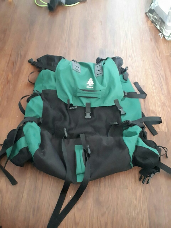 Woods camping back pack
