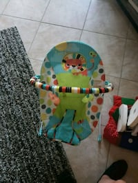 baby's blue and green bouncer Kissimmee, 34746