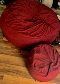 Two XL Chill Sack with Footstool! Annandale, 22003