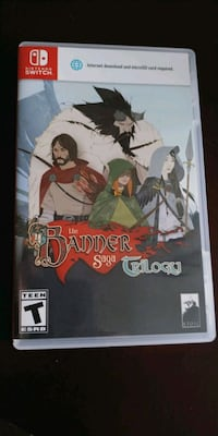 Banner Saga Trilogy Nintendo Switch