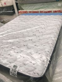 quilted white and gray floral mattress Houston, 77055