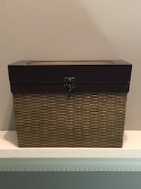 """GREAT PRICE! Chest 11 3/4"""" wide X 8"""" high X 7 3/4"""" deep."""