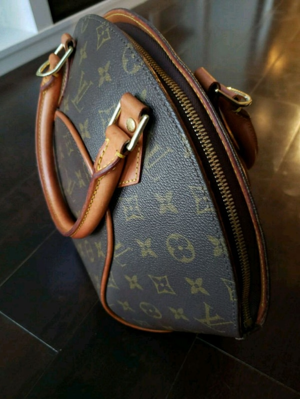 Used brown Louis Vuitton leather handbag for sale in Toronto - letgo 74893970934a3