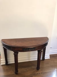 Hand Carved South East Asian wooden side table Chicago, 60614