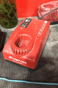 Snap on charger