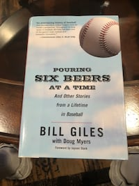 Pouring six beers at a time by Bill Giles