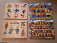 Wooden Puzzles for Children Pointe-Claire