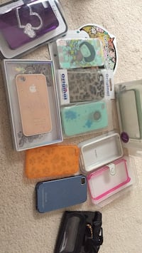 Assorted IPhone 4 4S cases bumpers Calgary, T2L 2J8