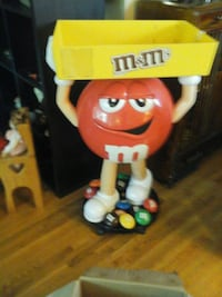 yellow and red M & M's figurine Kitchener, N2N 1W7