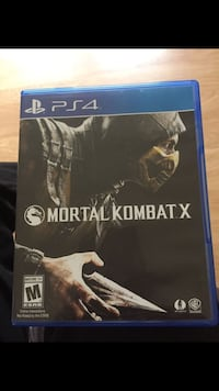 Mortal Kombat X Ps4 Game For Sale Gaithersburg, 20879