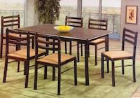 SALE 7 piece dining set (Table+6 chairs) Brampton, L6V 3A1