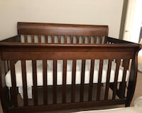 Crib, mattress with waterproof fitted cover for sale Rockville, 20850