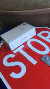Gold iphone 8 brand new in the box never been opened
