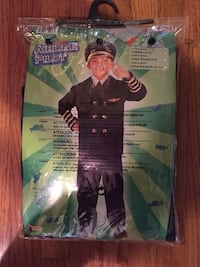 Halloween Airline Pilot Costume, Child Sm 4-6 Arlington, 22201