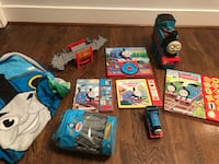 Thomas Train lover bundle toys books blanket  Springfield, 22152