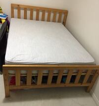 Bed Frame and Mattress (Size:Full/Double) Toronto