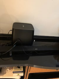 black and gray home theater system Vaughan, L4H 1H1