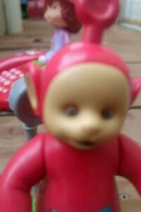 Teletubby Poh Coin operated Motion Bank Winnipeg, R2L 0X1