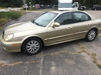 2003 HYUNDAI SONATA.    BRAND NEW INSPECTION Seekonk