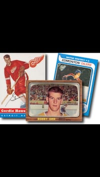 BUYING SPORTS CARD COLLECTIONS Kitchener