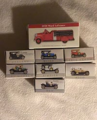 '99 Readers Digest vintage 6 car fullset with added firetruck