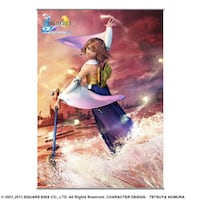 Yuna FFX wall scroll Port Coquitlam