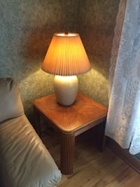 Coffee table, lamps, side tables  Laval, H7G 3Z4
