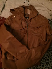 TAN JACKET & RED JACKET $20 FOR BOTH! Toronto, M4C 2Z1