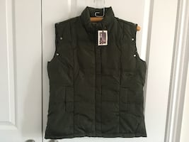 BRAND NEW BUFFALO DOWN VEST