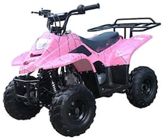 brand new 110cc four wheeler in the box