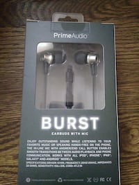 Prime Audio Burst EarBuds Washington, 20019