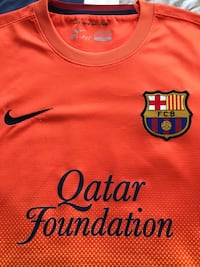 Barcelona Men's Medium Away 2012 Jersey  Washington, 20037