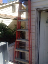 red and gray metal ladder Edmonton, T5G 1W8