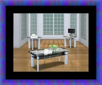 3pc glass coffee table Bowie, 20716