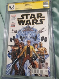 STARS WARS #1 GRADED - SIGNED