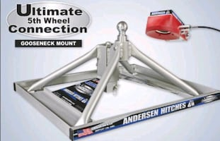 Gooseneck 5th wheel hitch