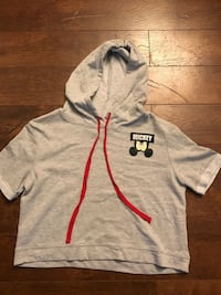 Gray and red pullover hoodie Edmonton, T5A 3L5