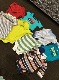 Baby boy 8 shirts for 3-6 month good condition hardly use Vaughan, L6A 3A4