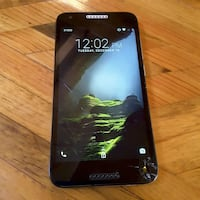 Straight talk, TracFone cell phone cracked screen 476 mi