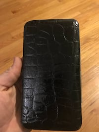 Black Leather Snap Wallet Livonia, 48150