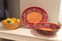 Serving Set - dishes Germantown
