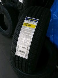 205/55/16...4 new Goodyear Fuel Max..Installed!